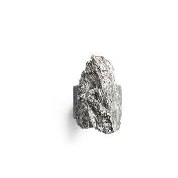 Anillo Tronco plata oxidada